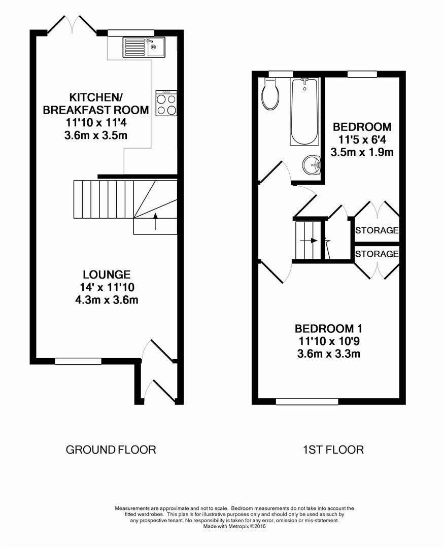 Floorplan for The Copse, Horsham